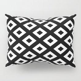 BLACK AND WHITE RHOMBS Pillow Sham