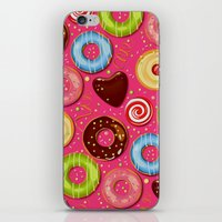 donut iPhone & iPod Skins featuring DONUT by Ylenia Pizzetti