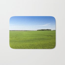 Field with cereal Bath Mat