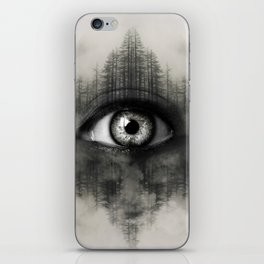 Misty Witness iPhone Skin