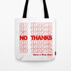 No Thanks Tote Bag