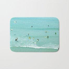 Surfing vintage. Summer dreams Bath Mat