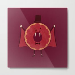Thirst For Jelly Metal Print