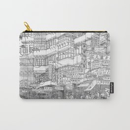 Hong Kong. Kowloon Walled City Carry-All Pouch