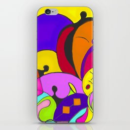 Can you feel the music iPhone Skin