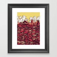 The Book Lover Framed Art Print