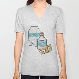 Lon Lon Milk & Cookies Unisex V-Neck