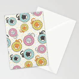 Donut Cat Stationery Cards