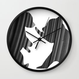 Cubs (The Living Things Series) Wall Clock