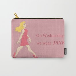 On Wednesdays, we wear Pink Carry-All Pouch