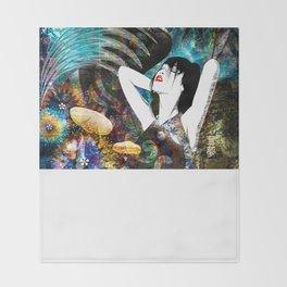 Haruki - Springtime Tree Throw Blanket