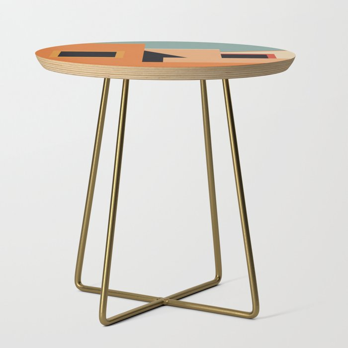 Summer_Urban_Landscape_Side_Table_by_Alisa_Galitsyna__Gold__Round