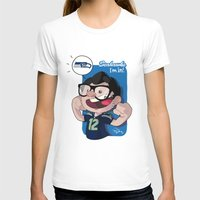seahawks T-shirts featuring I'm In! by Payulo Alvarado