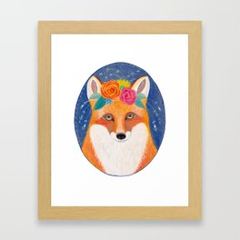 Foxy Miranda Framed Art Print