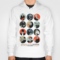 jazz Hoodies featuring Jazz  by Prelude Posters