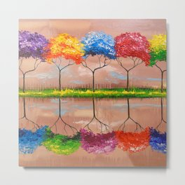 Every tree by its smell Metal Print