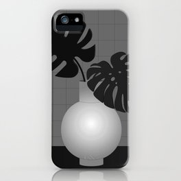 Lola Pot #1 Black iPhone Case