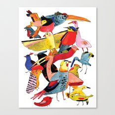 Bird Group Canvas Print