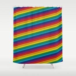 HD Rainbow Shower Curtain