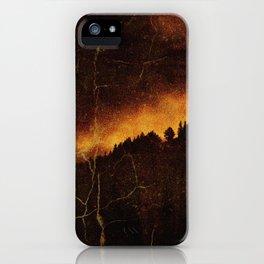 Burning City iPhone Case