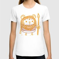 ewok T-shirts featuring Cheeseburger Ewok by Philip Tseng