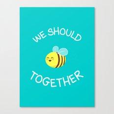 A bug's love life Canvas Print