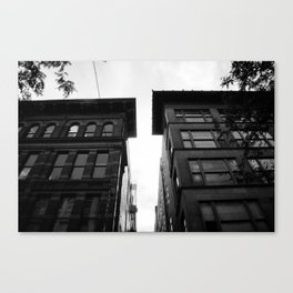 City Alleys Canvas Print