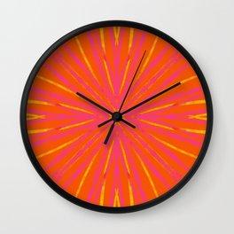 Vintage Tile Pattern 2 Wall Clock