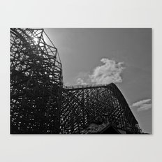 The same ups and downs Canvas Print