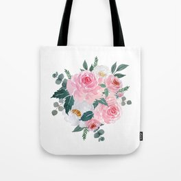 Watercolor Floral Bouquet n.1 Tote Bag