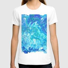 Aqua Ocean Blue T-shirt