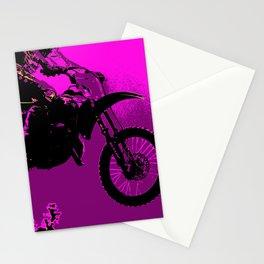 MX  - Motocross Racer Stationery Cards