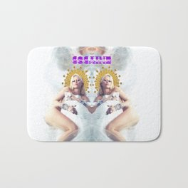 MILEY CYRUS COCAINE WHITE Bath Mat