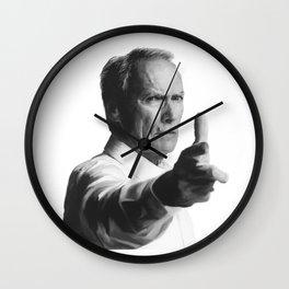 The Smoking Gun Wall Clock