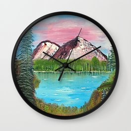 From Left To Right Wall Clock