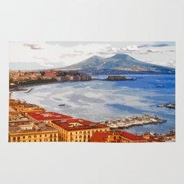 Italy. The Bay of Napoli Rug
