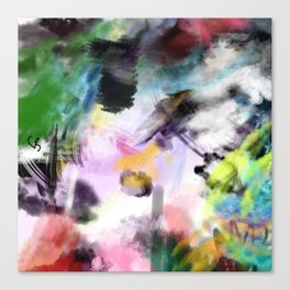 Untitled Recovered Canvas Print