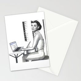 Even the Famous Facebook Stalk Stationery Cards
