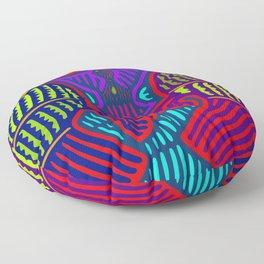 San Blas Twin Parrots Floor Pillow