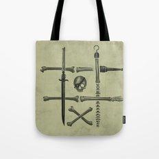 Noughts & Crossbones Tote Bag