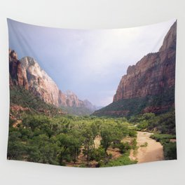 Escape To Zion Wall Tapestry