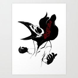 Diskordia: Shaw Art Print