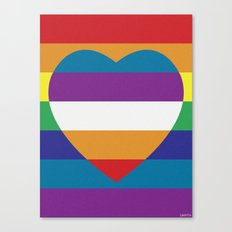 LOVEBOW Canvas Print