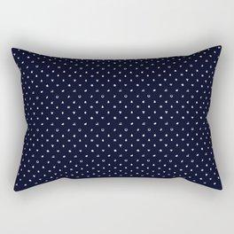 Lucky Gambling Patterns Rectangular Pillow