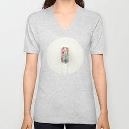 Christmas Eve in a hurry Unisex V-Neck