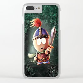 Viking Stan Clear iPhone Case