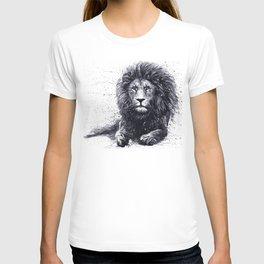 Hand drawn Lion king portrait T-shirt