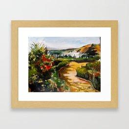 Gardens of La Alhambra Framed Art Print