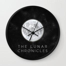 The Lunar Chronicles Wall Clock
