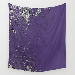 Purple Mold Wall Tapestry